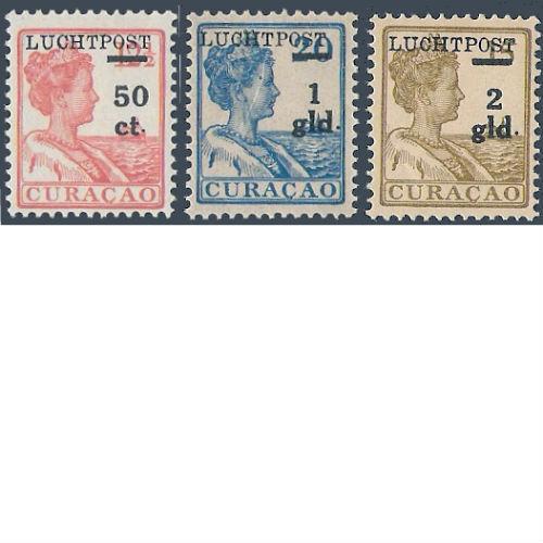 Curacao 1929 luchtpostzegels hulpuitgifte