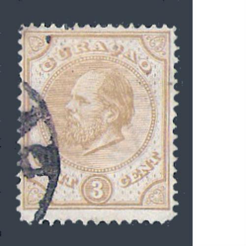 Curacao 1873-1889 Koning Willem III