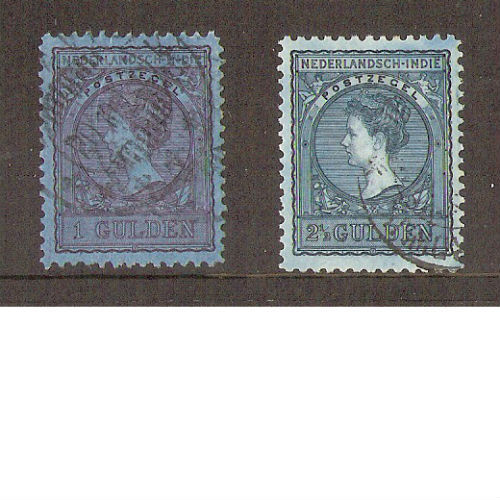 Nederlands Indië 1906-1912 Koningin Wilhelmina
