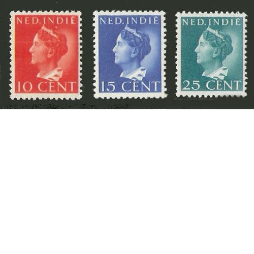 Nederlands Indië 1941 Koning Wilhelmina Konijnenburg