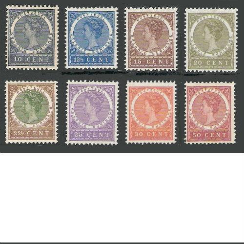 Suriname 1904-1908 Koningin Wilhelmina
