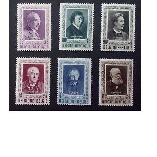 België 1952  Belgische schrijvers