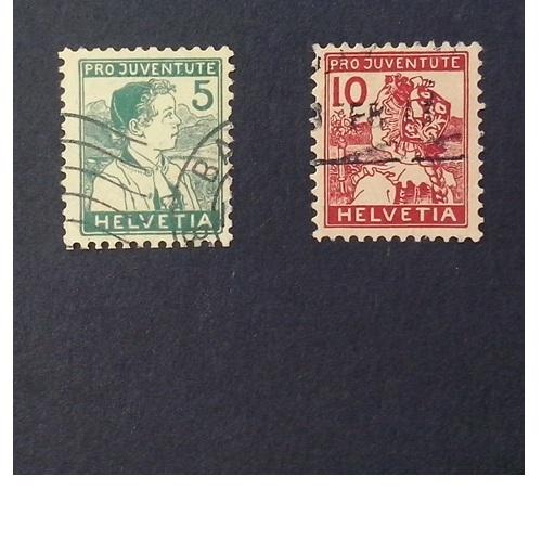 Zwitserland 1915  Kinderzegels Pro Juventute