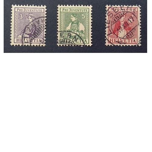 Zwitserland 1917  Kinderzegels Pro Juventute