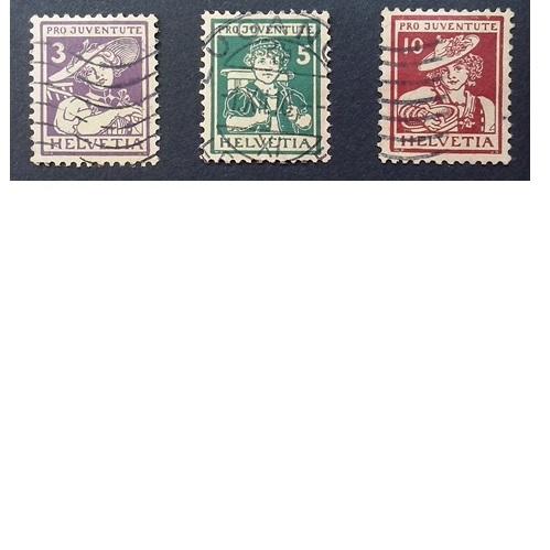 Zwitserland 1916  Kinderzegels Pro Juventute