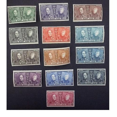 België 1925  75 Jaar Belgische postzegels