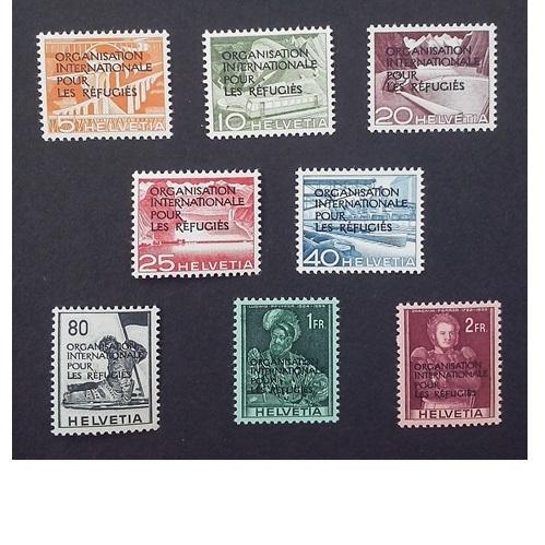 Zwitserland 1950  Dienstzegels