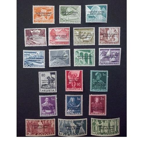 Zwitserland 1950 Wereldgezondheidsorganisatie