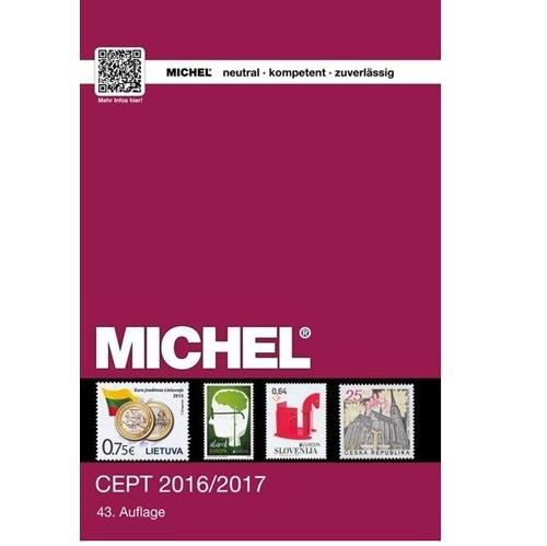 Michel postzegelcatalogus CEPT 2016-2017