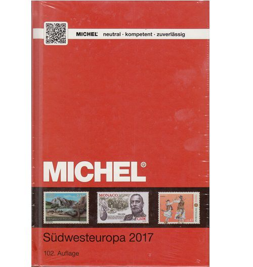 Michel Zuid West Europa 2017 Postzegel catalogus
