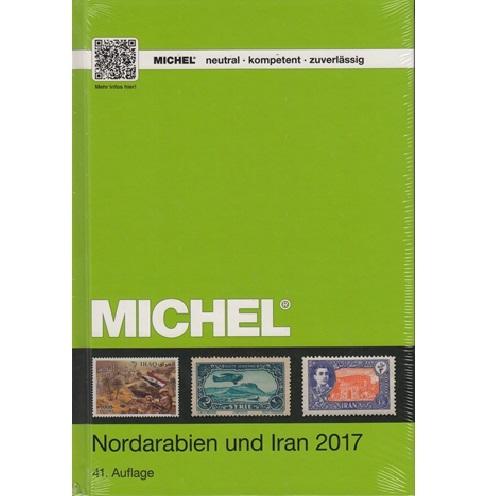 Michel Noord Arabië en Iran 2017 Postzegel catalogus