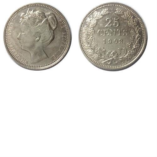 25 cent 1903  Koningin Wilhelmina