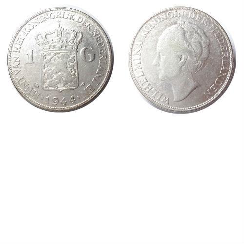 1 gulden 1944 Pa Koningin Wilhelmina