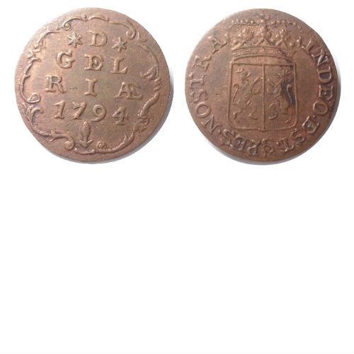 duit 1794 Zeeland