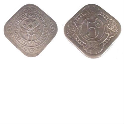 5 cent 1943 Koningin Wilhelmina