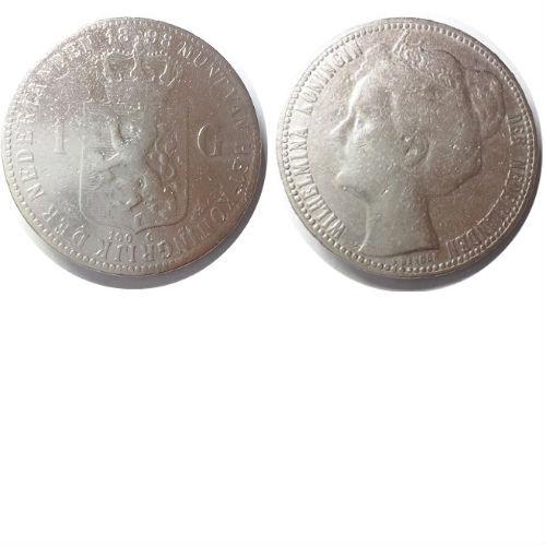 1 gulden 1898 Koningin Wilhelmina