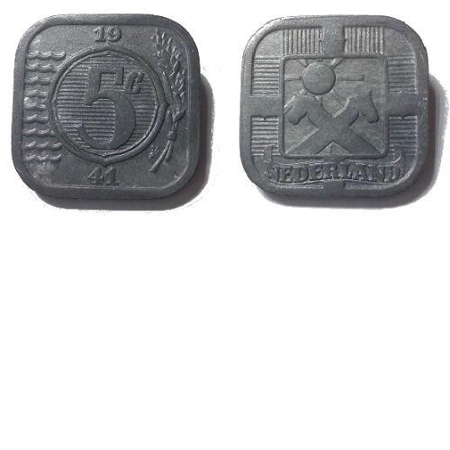 5 cent 1941 zink