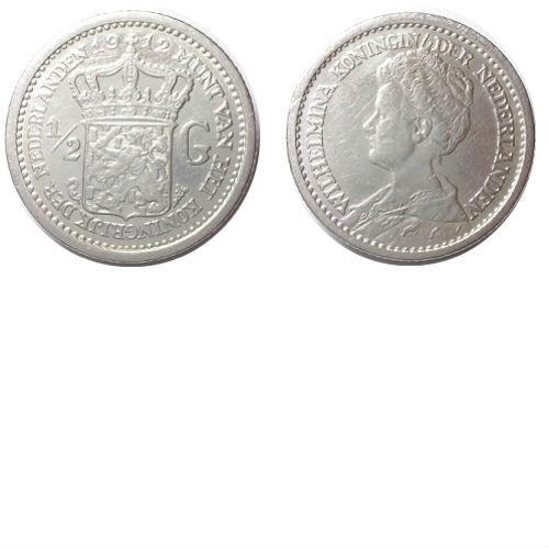 1/2 gulden 1912 Koningin Wilhelmina