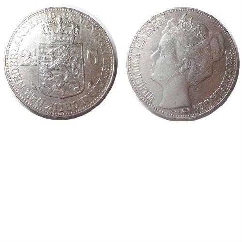 2 1/2 gulden 1898 Koningin Wilhelmina