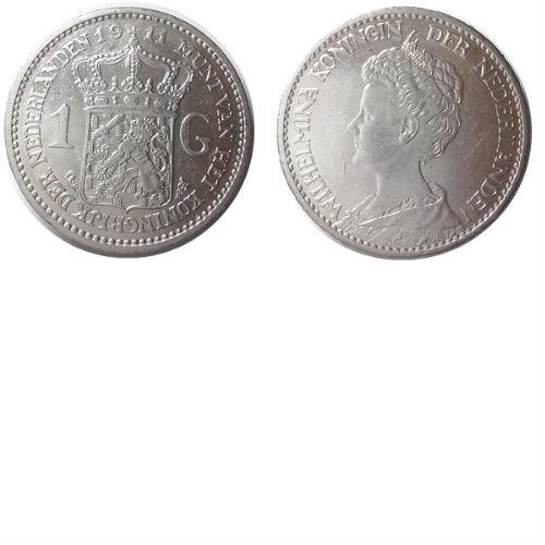 1 gulden 1911 Koningin Wilhelmina