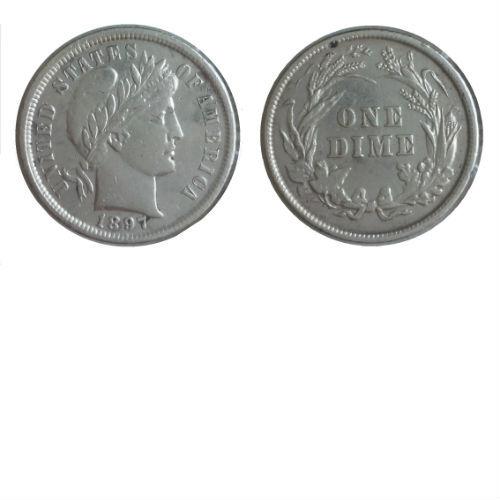 USA 10 cent 1897