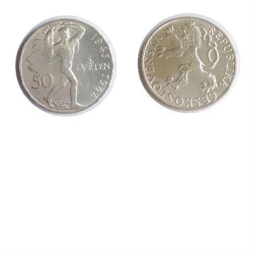 Tsjechoslowakije 50 korun 1948