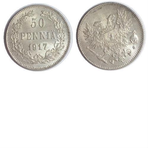 Finland 50 pennia 1917S