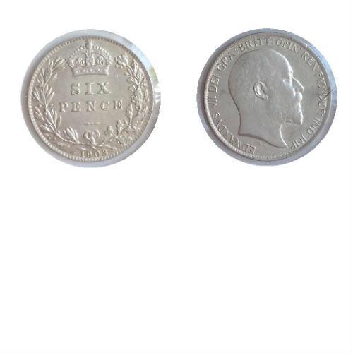 Groot Brittanië 6 pence 1903