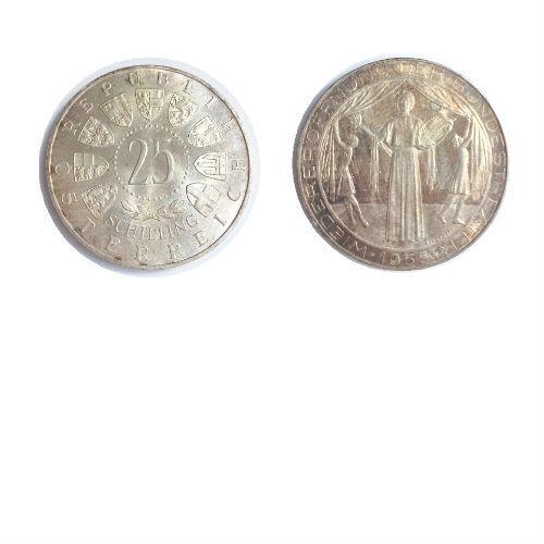 Oostenrijk 25 schilling 1955