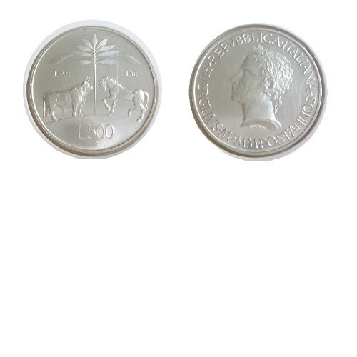 Italië 500 lire 1981 R