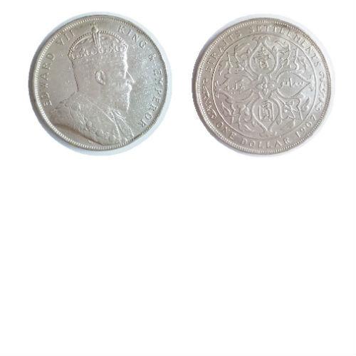 Straits Settlements 1 dollar 1907