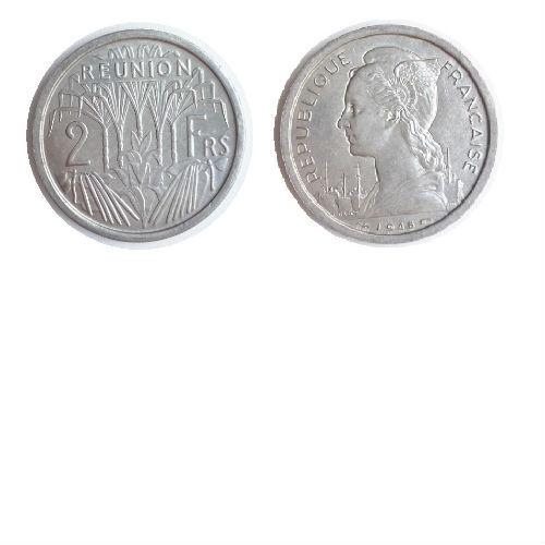 Reunion 2 franc 1948