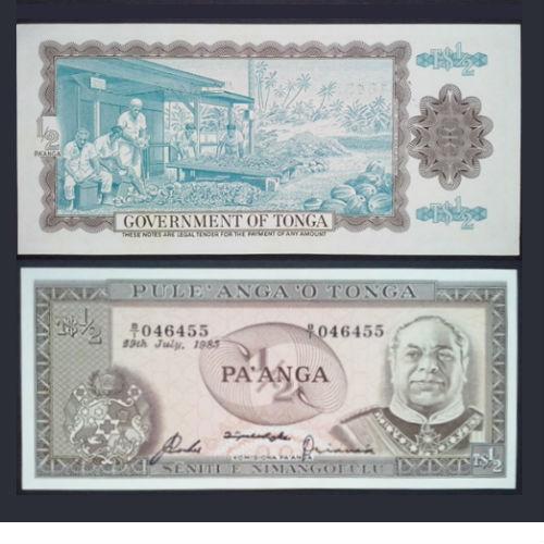 Tonga ½ Pa'anga 1983
