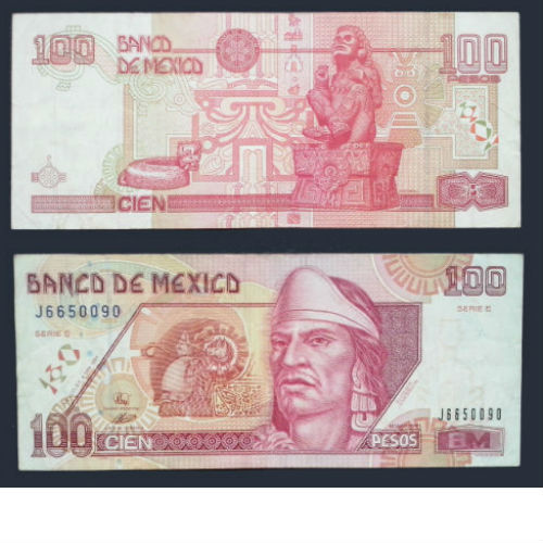 Mexico 100 Pesos 1994