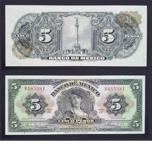 Mexico 5 Pesos 1961