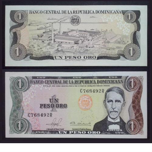 Dominica 1 peso oro 1980