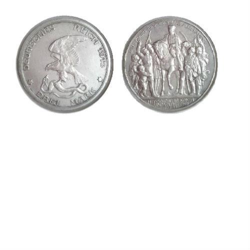 Pruissen 3 mark 1913 A