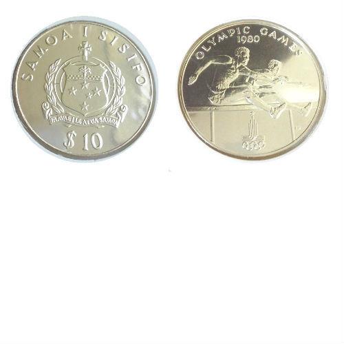 Samoa 10 $ 1980