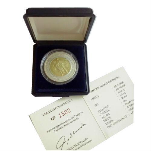 Andorra 20 dinars 1998