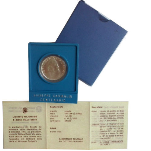 Italië 500 lire 1982