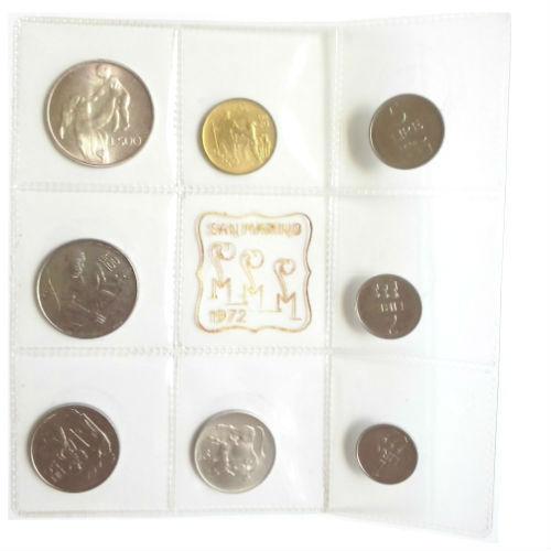 San Marino muntset 1972