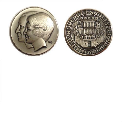 Koningin Beatrix en Prins Claus 1966