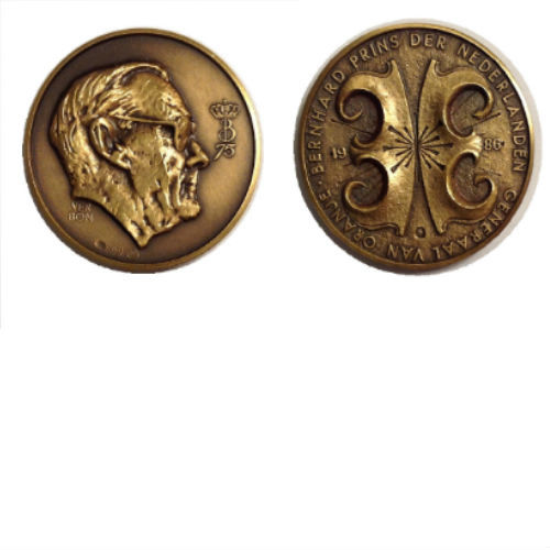 75 jaar Prins Bernhard generaal van Oranje