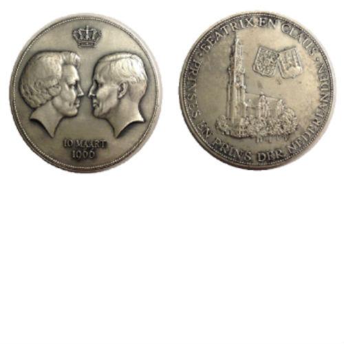 Prinses Beatrix en Prins Claus 10 maart 1966