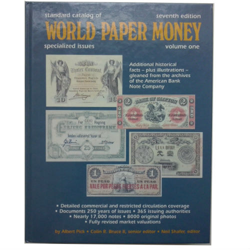 Pick World Paper Money Vol. 1 papiergeldcatalogus