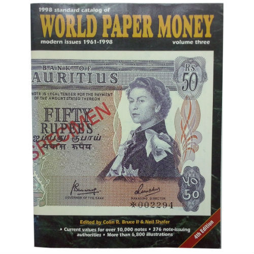 Krause World Paper Money Vol. 3  papiergeldcatalogus