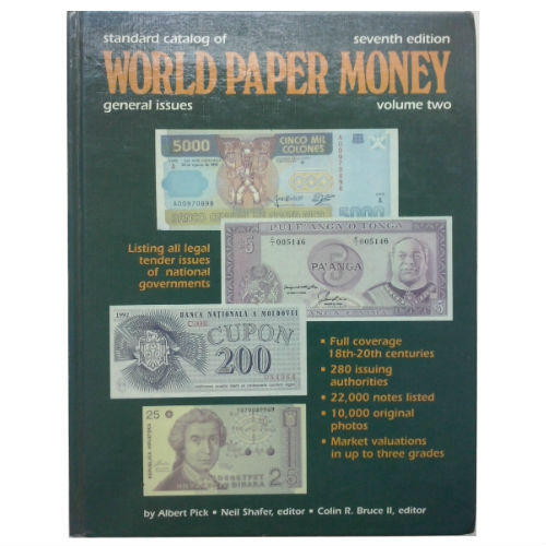 Pick World Paper Money Vol. 2 papiergeldcatalogus