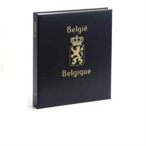 Davo België luxe postzegelalbum met cassette deel IX