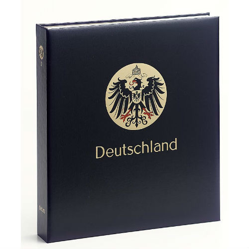 Davo Duitsland luxe postzegelalbum met cassette deel III