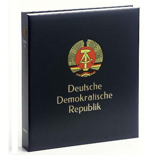 Davo DDR luxe postzegelalbum met cassette deel V